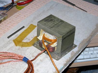 Трансформатор для переделки сварочного аппарата для сварки проводов