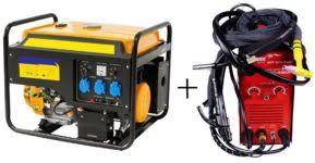бензогенератор и сварочное оборудование