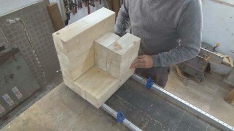 Склейка деревянных брусков-2