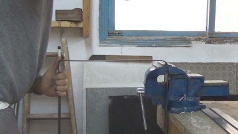 Готовим обод для стяжки бруса-7
