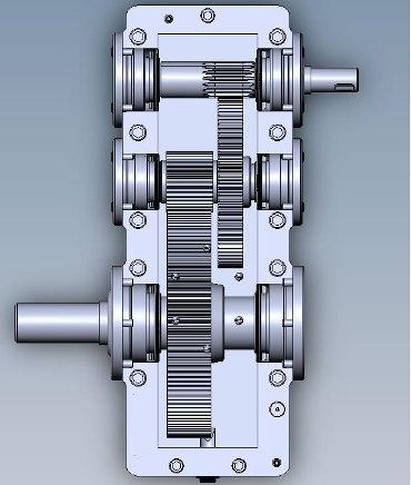 Цилиндрический двухступенчатый редуктор