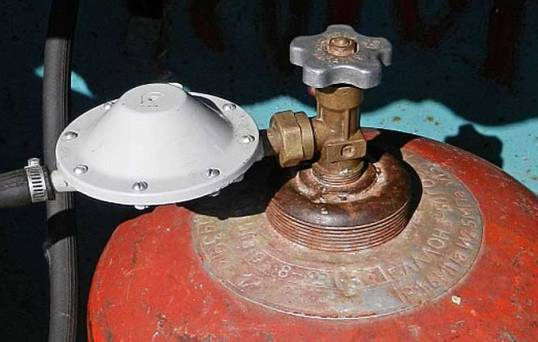 Использование газового редуктора - 2