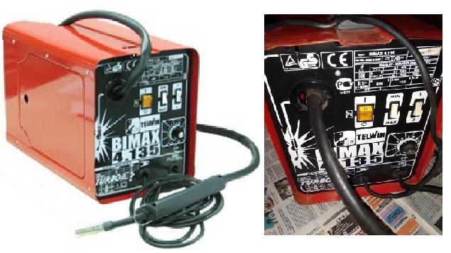 Инвертор - полуавтомат Telwin Bimax 4.165 230 V