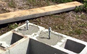 Как установить анкерный болт в бетон | 2