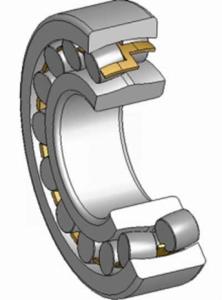Роликовый  двухрядный сферический подшипник. фото сайта