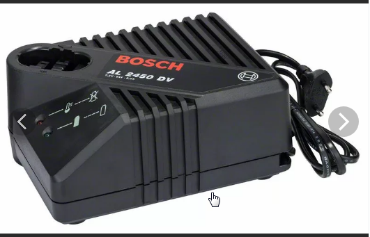 Зарядное устройство для шуруповерта BOSCH с li -ion батареей | 1